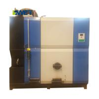 Fully automatic small wood fired steam boiler for textile industry