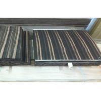 Natural Wood Flooring Veneer , Amara Ebony Veneer Straight Grain