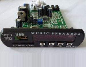 China digital 20W stereo amp module with MP3 player on sale