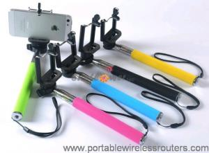 China Colorful Mobile Phone Accessories / Smartphone Monopod Selfie Take Pole Z07-1 on sale