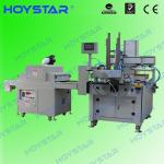 Automatic ruler screen printing machine with UV curing machine