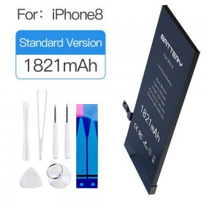China Full Capacity Rechargeable Iphone 8 Battery Replacement 1821mAh With 550 Recycling on sale
