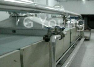 China 11t Flour Use 630mm Roller Fried Bag Instant Noodle Production Line 60-110g/Cake on sale