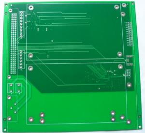 China Double Layer PCB FR4 Green Immersion Tin Custom Multilayer Printed Circuit Board PCB on sale