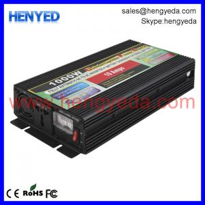 China 1000w 110v 220v solar inverter with charger UPS 1kw solar system for home on sale