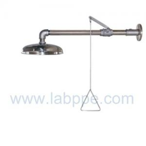 Quality SHA100S-Wall mounted emergency shower,SS304.safety shower for washing the body,ansi 2009 for sale