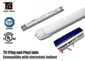China Dimmable T8 LED Tube Light 1200mm Length G13 Base SMD LEDs Light Source on sale