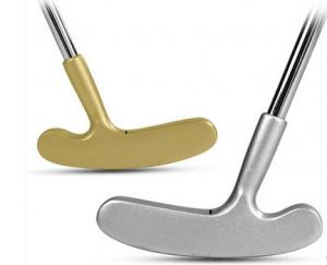 China golden & silver golf putter on sale