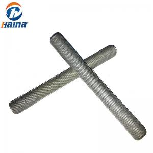 China Low Carbon Stee DIN975 Fully Threaded Rod Zinc Plated Class 4.8 on sale