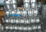 Stainless Steel Flanges Pipe Fittings  300 Series Raw Material ISO 9001 / PED