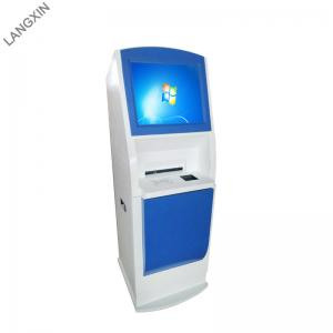 China 15~22 Inch Screen Hospital Check In Kiosk With Payment Collection on sale