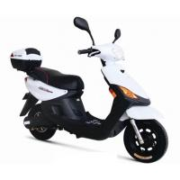 White or Blue Customized electric motor scooter bike / motorbike for Commuter , Leisure , Shopper