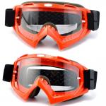 Scratch Resistance Motocross Goggles Muliple Color TPU Frame Optically Precise