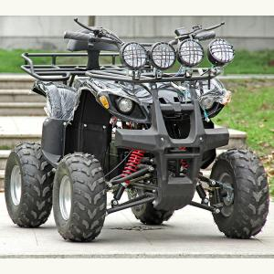 China Electric Atv Quad Bike 1500W / 2000W DC Brushless Motor With Four Bright Lights on sale