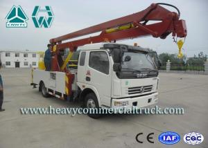 China Electro Hydraulic Electric Aerial Platform Truck With Lifting Boom 14M - 16M on sale