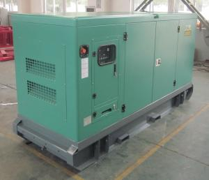 China Water Cooled Silent Diesel Generator Set 300KW 400V Heavy Duty For Construction on sale