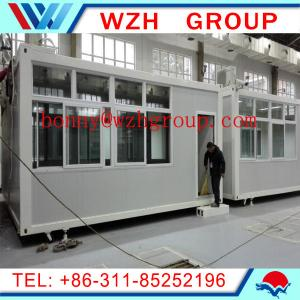 China prefab container house / portable coffee kiosk / shop / workshop on sale
