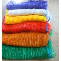 China Plastic PE HDPE Raschel Mesh Net Bags For Potato Citrus Bag on sale