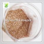 China PET Sand Gold Glitter Powder on sale