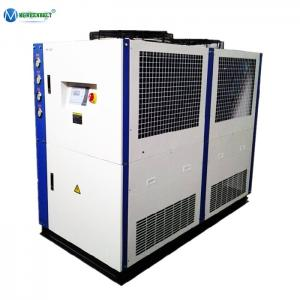 China Chiller Agent 25 hp 15 ton 18 Ton Air Cooled Water Chiller for Plastic Injection Molding Machine on sale