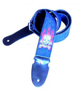 China Rockyou Leather cowboy embroidery straps on sale