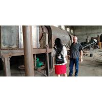 Continuous carbonization furnace factory Henan Ling Heng price with high capacity