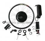 kits électriques de conversion de vélo de 38Km/H 26 moteur arrière puissant de vitesse de frein à disque de la roue 16Kgs de pouce