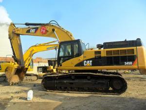 China Used Caterpillar Excavators Caterpillar 345D on sale