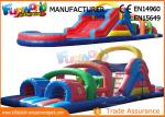 Interesting Inflatables Obstacle Course For Amusement Park / Fun City