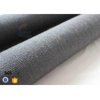 China 800gsm Black Vermiculite Coated Fiberglass Fabric Thermal Insulation Materials on sale