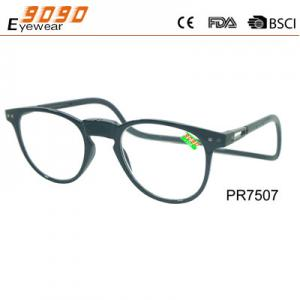 China 2018 most popular glasses Wholesale magnetic round frame reading glasses on sale