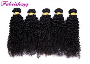 China Natural Black 100 % Human Virgin Hair Extension No Chemical Processed on sale