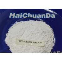 China White Powder Heat Stabilizer For PVC Pressured Pipe , Environmentally Friendly on sale