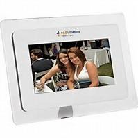 China 7 Inch Digital Photo Frame With Remote Control 800 x 480 Resolution on sale