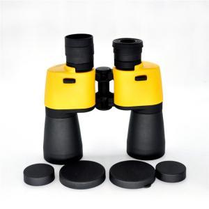 China Yellow Waterproof 7x50 Binoculars Porro Bak4 Prism Binoculars With Carrying Case on sale