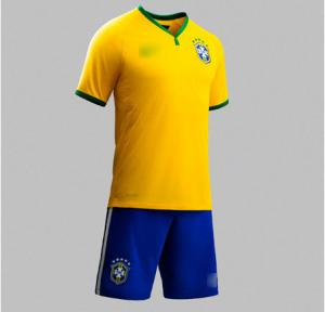 China 2014 FIFA newest Brazil Nation football team Home jerseys  SOCCER event fans sport shirts on sale