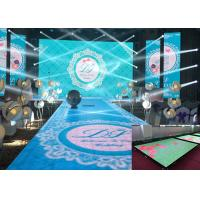P3.91 Digital Dance Floor LED Screen Touch Modules SMD For Ground Projection