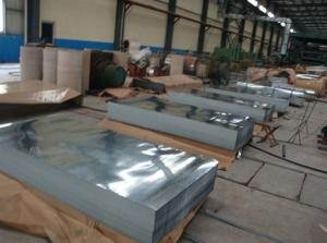 China Zinc Coating Stainless Steel Sheet / Plate ASTM A36,1010,1020,SGCC,SGCH on sale