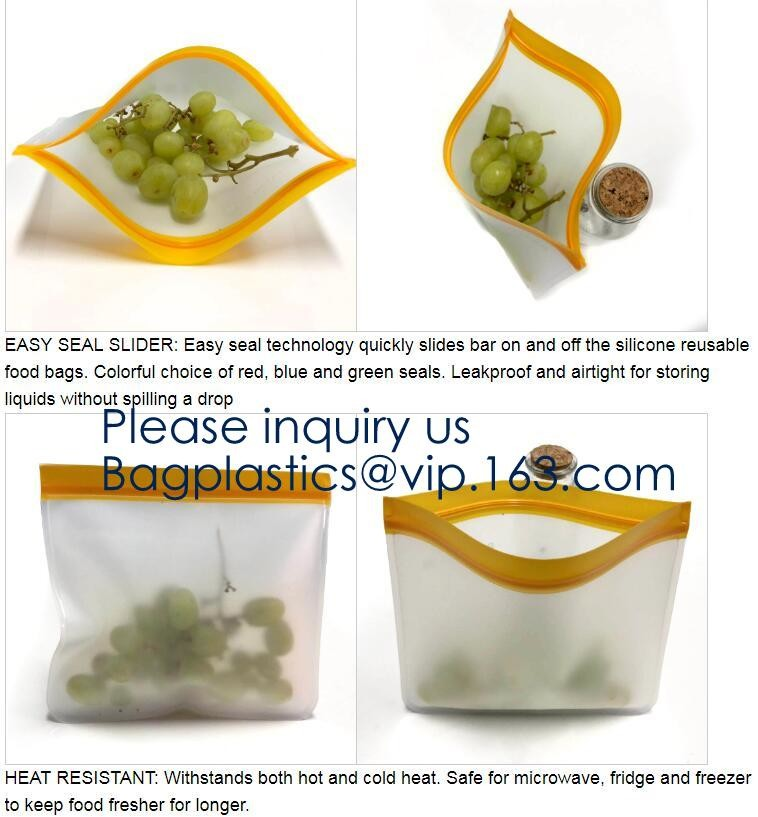 30 x Resealable Freezer Food Bags Sandwich Seal 20cm x 35cm