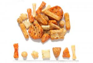 China Hard Texture Rice Cracker Trail MixSafe Raw Ingredient Good For Stomach on sale