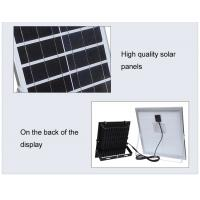 China 100w Solar LED Flood Lights / Motion Sensor Solar Flood Light in Long Lifetime on sale