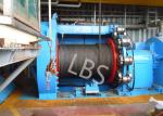 10T 20T Hydraulic Windlass Winch With Lebus Grooving Drum Eco Friendly