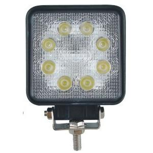 China 24W IP67 Square Led driving Lights Headlight 4x4 work lights Spot beam on sale
