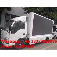 ISUZU LHD mobile digital billboard LED advertising vehicle for sale, hot sale best price outdoor LED billboard truck
