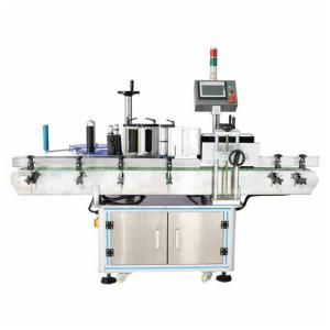 China Tin Can Automatic Labeling Machine For Universal Round Bottle Labeling on sale