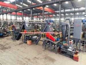China 3 TPH Waste Tire Recycling Plant Low Speed Operation 12 Month Warranty on sale