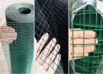 Iron Square Mesh Wire Cloth / Square Wire Netting For Industrial Uses