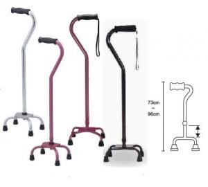 China Adjustable Medical Supplies Walkers Aluminum Elbow Crutch Lightweight on sale