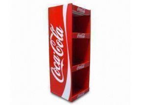 China Cardboard display shelf with custom design cardboard display rakcs ENFD009 supplier