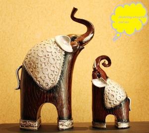 China Resin elephant furnishing articles on sale